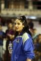 Ragini Dwivedi @ CCL 4 Semi Final Karnataka Bulldozers vs Mumbai Heroes Match Photos