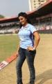 Akshara Singh @ CCL 4 Semi Final Kerala Strikers Vs Bhojpuri Dabanggs Match Photos