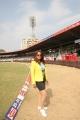 Pakhi Hegde @ CCL 4 Semi Final Kerala Strikers Vs Bhojpuri Dabanggs Match Photos