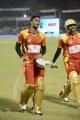 CCL 4 Telugu Warriors Vs Karnataka Bulldozers Match Photos
