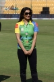 Lissy Priyadarshan @ CCL 4 Telugu Warriors vs Kerala Strikers Match Stills