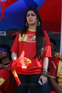 Charmi @ CCL 4 Telugu Warriors vs Kerala Strikers Match Stills