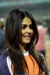 Genelia @ CCL 4 Veer Marathi Vs Bhojpuri Dabanggs Match Photos