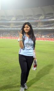 Shubhi Sharma @ CCL 4 Veer Marathi Vs Bhojpuri Dabanggs Match Photos