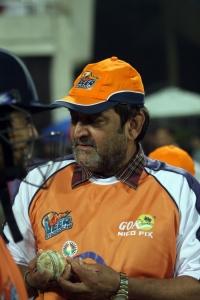 Mahesh Manjrekar @ CCL 4 Veer Marathi Vs Bhojpuri Dabanggs Match Photos