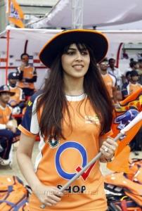 Genelia @ CCL 4 Veer Marathi Vs Mumbai Heroes Match Photos