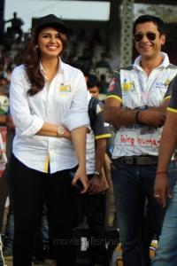 Huma Qureshi @ CCL 4 Veer Marathi Vs Mumbai Heroes Match Photos