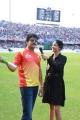 Nagarjuna @ CCL 6 Final Telugu Warriors vs Karnataka Bulldozers Match Stills