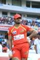Sudheer Babu @ CCL 6 Final Telugu Warriors vs Karnataka Bulldozers Match Stills