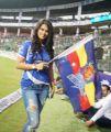Sharmila Mandre @ CCL 6 Karnataka Bulldozers Vs Chennai Rhinos Match Photos
