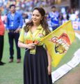 Nikesha Patel @ CCL 6 Karnataka Bulldozers Vs Chennai Rhinos Match Photos