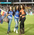 Sharmila Mandre, Parvathy Nair @ CCL 6 Karnataka Bulldozers Vs Chennai Rhinos Match Photos