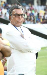 Nassar @ CCL 6 Kerala Strikers Vs Chennai Rhinos Match Photos