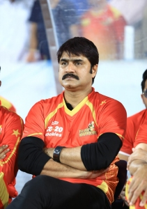Srikanth @ CCL 6 Telugu Warriors vs Karnataka Bulldozers Match Stills