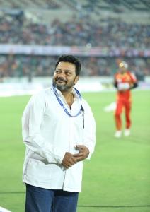 Saikumar @ CCL 6 Telugu Warriors vs Karnataka Bulldozers Match Stills