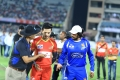 Akhil Akkineni, Sudeep @ CCL 6 Telugu Warriors vs Karnataka Bulldozers Match Stills