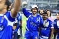Sudeep @ CCL 6 Telugu Warriors vs Karnataka Bulldozers Match Stills