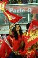 Regina Cassandra @ CCL 6 Telugu Warriors Vs Bhojpuri Dabanggs Semi Final Match Photos
