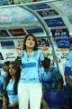 Pakhi Hegde @ CCL 6 Telugu Warriors Vs Bhojpuri Dabanggs Semi Final Match Photos