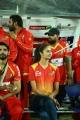 Shubra Aiyappa @ CCL 6 Telugu Warriors Vs Bhojpuri Dabanggs Semi Final Match Photos