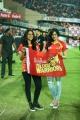 Regina Cassandra, Adah Sharma @ CCL 6 Telugu Warriors Vs Bhojpuri Dabanggs Semi Final Match Photos