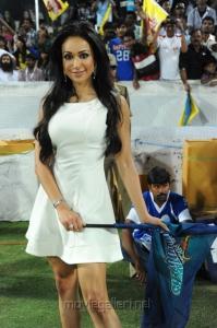 Madhuri Bhattacharya at CCL Final Match 2012 Stills