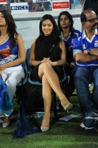Nikesha Patel in CCL Final Match 2012 Stills