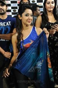 Aindrita Ray in CCL Match Stills