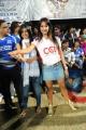 Actress Sanjana in CCL 2012 Match