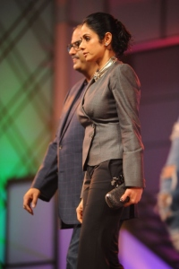 Sridevi Boney Kapoor @ CCL Season 2 Curtain Raiser Pictures
