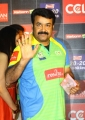 Actor Mohanlal at CCL Season 3 Curtain Raiser Photos