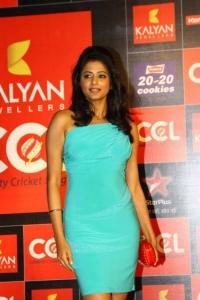 Actress Priyamani at CCL Season 3 Curtain Raiser Photos