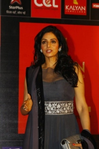 Actress Sridevi at CCL Season 3 Curtain Raiser Photos