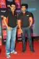 Venkatesh, Ram Charan at CCL Season 3 Telugu Warriors Team Announcement Photos