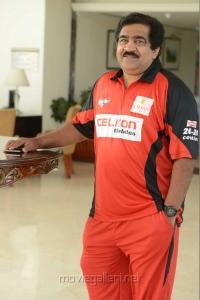 V Chamundeswaranath in CCL Telugu Warriors Team Members 2013 Photos