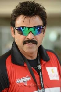 Victory Venkatesh in CCL Telugu Warriors Team Members 2013 Photos