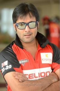 Actro Tarun Kumar in CCL Telugu Warriors Team Members 2013 Photos