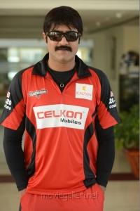 Srikanth in CCL Telugu Warriors Team Members 2013 Photos