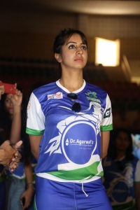 Actress Sanjana @ Celebrity Badminton League 4th Match Launch Photos