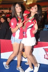 Aindrita Ray @ Celebrity Badminton League 4th Match Launch Photos