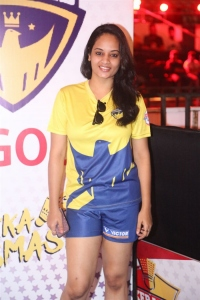 Actress Suja Varunee @ Celebrity Badminton League 4th Match Launch Photos