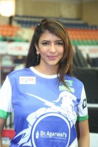 Lakshmi Manchu @ Celebrity Badminton League 4th Match Launch Photos