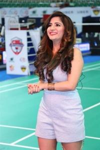 Celebrity Badminton League 4th Match Launch Photos