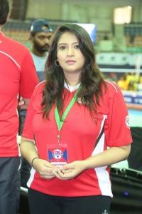 Actress Sanghavi @ Celebrity Badminton League 4th Match Launch Photos