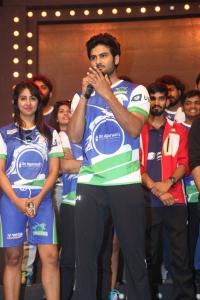 Sudheer Babu @ Celebrity Badminton League 4th Match Launch Photos