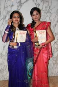 Nandagi, Arundhati at AIAC Awards for Excellence Stills