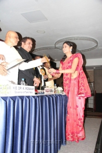 Actress Arundhati at AIAC Awards for Excellence Stills