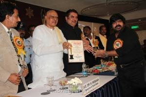 K Rosaiah, T.Rajendar at AIAC Awards for Excellence Stills