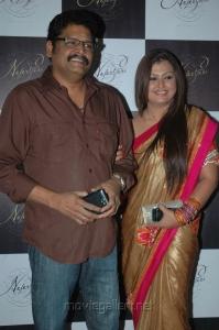 KS Ravikumar, Sona at NEFERTARI Fashion show stills