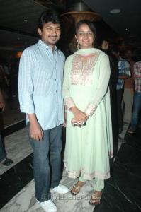 Udhayanidhi Stalin wife Krithika at NEFERTARI Fashion show stills